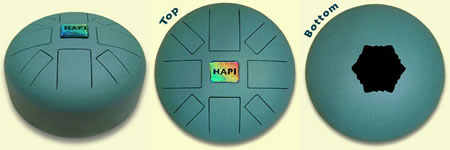 The HAPI Drum, steel tongue drum