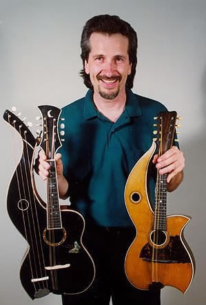 harp mandolins mini harp guitar like rare musical instruments. Black Bedroom Furniture Sets. Home Design Ideas